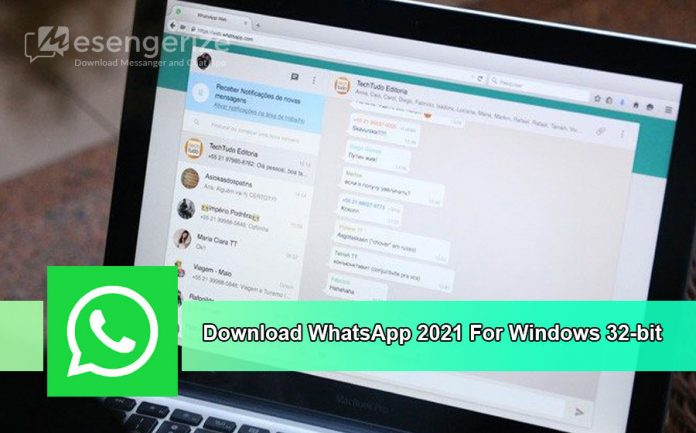 Download WhatsApp 2021 For Windows 32-bit