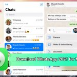 Download WhatsApp 2021 for Mac OS