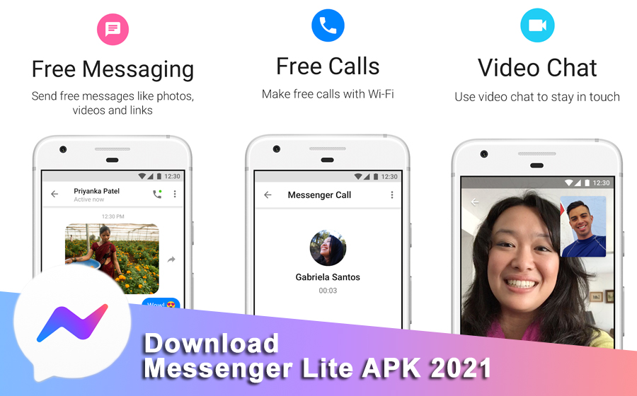Download Messenger Lite 2021 APK for Android
