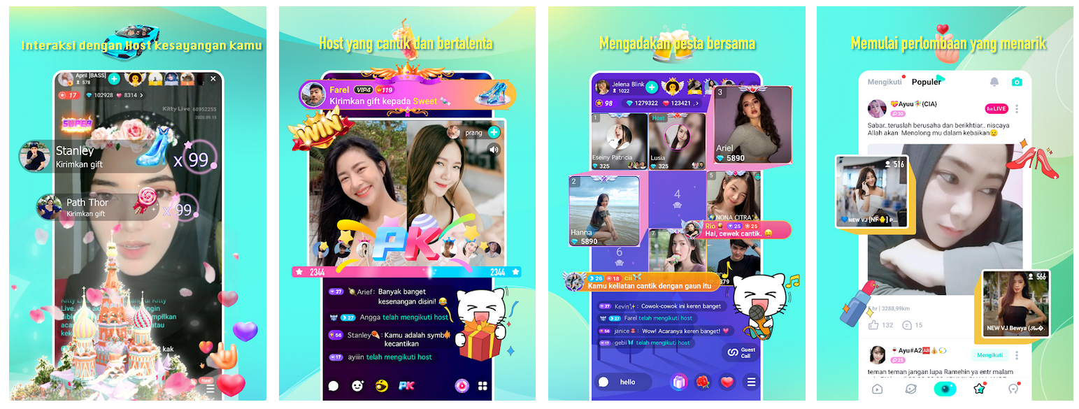 Download Kitty Live 2021 APK for Android